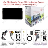 for nissan altima teana 2003 2007 accessories car android multimedia player radio 9inch ips screen stereo gps navigation system