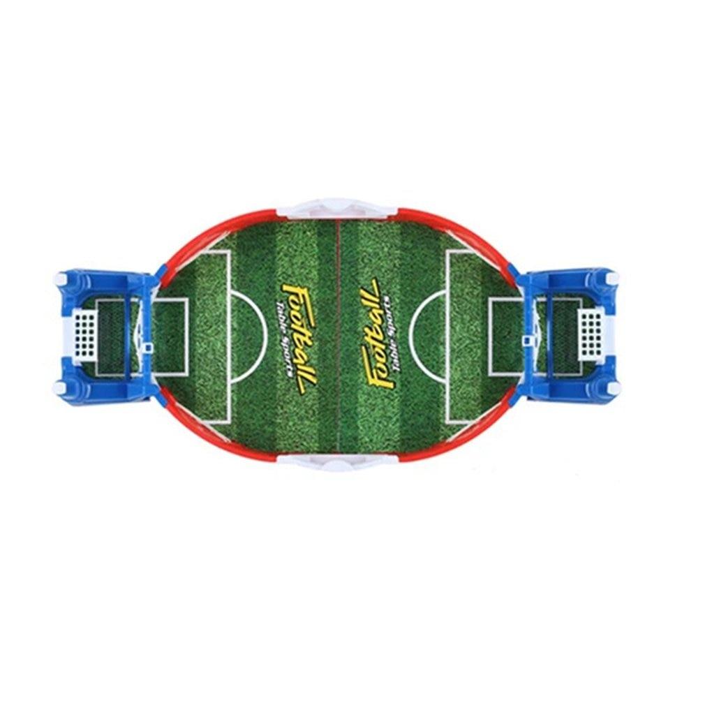 Мини Доска футбол Матч Комплект для игры в Настольный футбол игрушки для детей Обучающие Спорт на открытом воздухе Портативный настольные ...