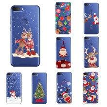 Aveolela Voor Alcatel 1S/1S 1 3/3L 1C 3 1 2019 5033D 5003D Kerst Telefoon case Ultra-Dunne En Lichtgewicht Krasbestendig