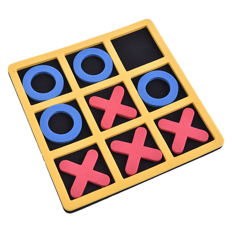 Фото - Parent-Child Interaction Leisure Board Game OX Chess Funny Developing Intelligent Educational Toys Puzzles Game Kids Gift 2021 novelty kids bean bag toss game toys outdoor dart board game game toy set fun parent child interaction educational game