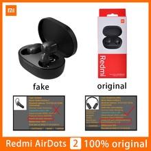 Original Xiaomi Airdots 2 sans fil écouteur TWS Redmi Airdots Bluetooth 5.0 écouteurs casque vrai avec micro mains libres Auto Link