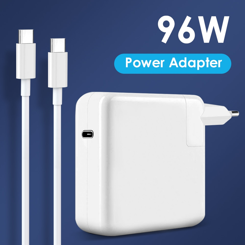 NORTHJO 96W USB C PD Laptop Charger Power Adapter with Type C Charging Cable for MacBook Pro Air 13 15 16 inch US UK EU Plug