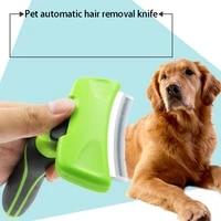 2021 new pet hair remover combs furmine cat grooming brush deshedding tool comb edge trimming dog cat rake removal fur brush