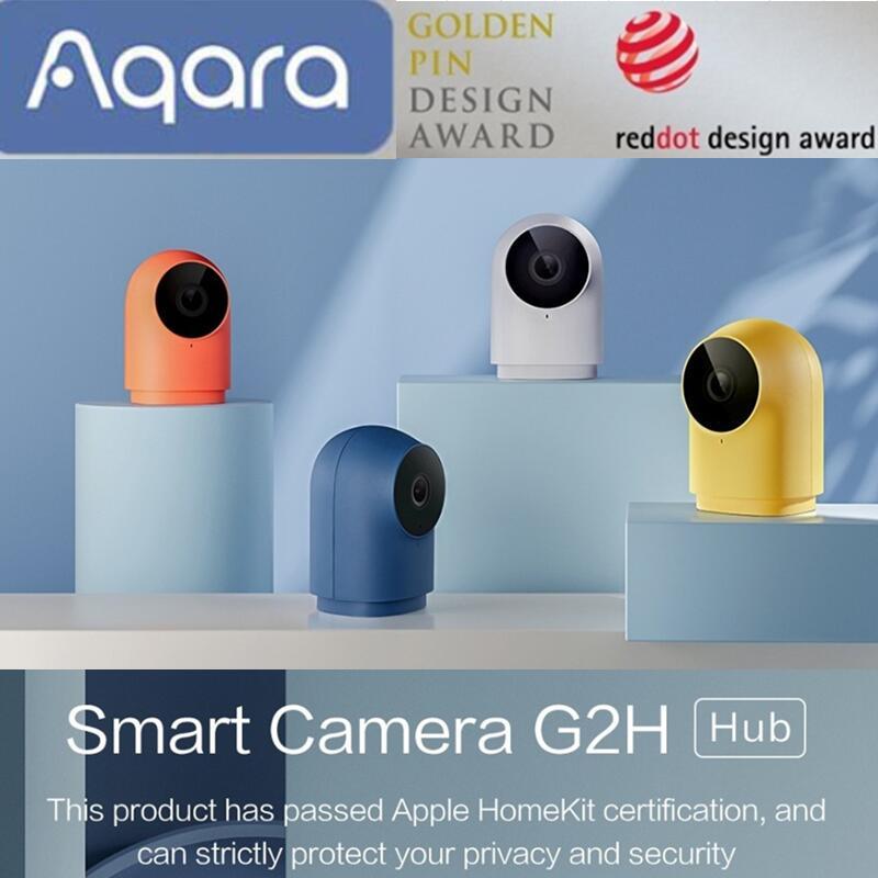 Aqara-كاميرا مراقبة G2H HD 1080P ، جهاز أمان منزلي ذكي ، مع رؤية ليلية ، تطبيق Apple HomeKit ، Zigbee ، جديد