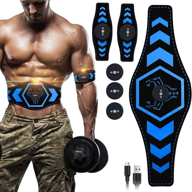 abdominal muscle stimulator trainer ems abs fitness equipment training gear muscles electrostimulator toner exercise at home gym Abdominal Muscle Stimulator EMS Trainer USB Connect Abs Fitness Equipment Training Gear Muscles Electrostimulator Toner Massage
