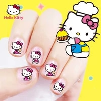 hello kitty nail stickers princess nail stickers childrens full piece nail stickers childrens toy stickers