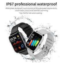 P8 1.4 pouces montre intelligente hommes pleine touche Fitness Tracker tension artérielle horloge intelligente femmes GTS Smartwatch pour Huawei Iphone Xiaomi