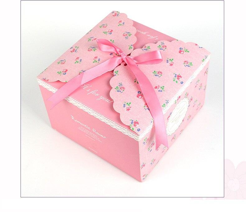 Cajas de Regalo con lazo para dulces de 10/20 piezas y suministros...