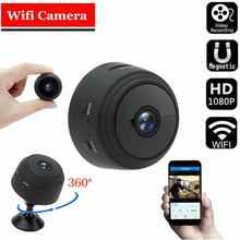 A9 мини-камера 1080P HD Беспроводная Wi-Fi IP-камера Умный дом безопасность с дистанционным управлением ночная версия мобильные датчики обнаружени...
