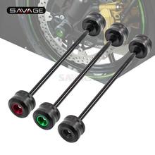 Передняя ось вилка колеса протектор для KAWASAKI Z800 Z900 Z900RS Z1000 Z650 Z750 Z750S аксессуары для мотоциклов Краш слайдер Pad