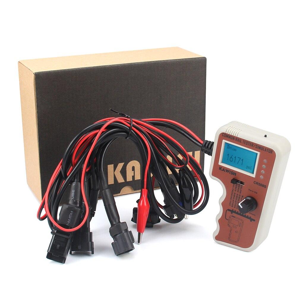 Обновление CR508S CR508S Цифровой Тестер давления Common Rail и симулятор для насоса высокого давления диагностический инструмент двигателя, многое другое