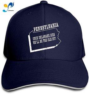 Pennsylvania Slogan Men Cotton Classic Baseball Cap Adjustable Size