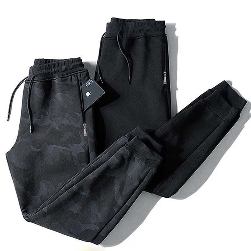 Мужские тренировочные штаны на осень и зиму, мужские тренировочные штаны для фитнеса и бодибилдинга, джоггеры, камуфляжные тренировочные б...