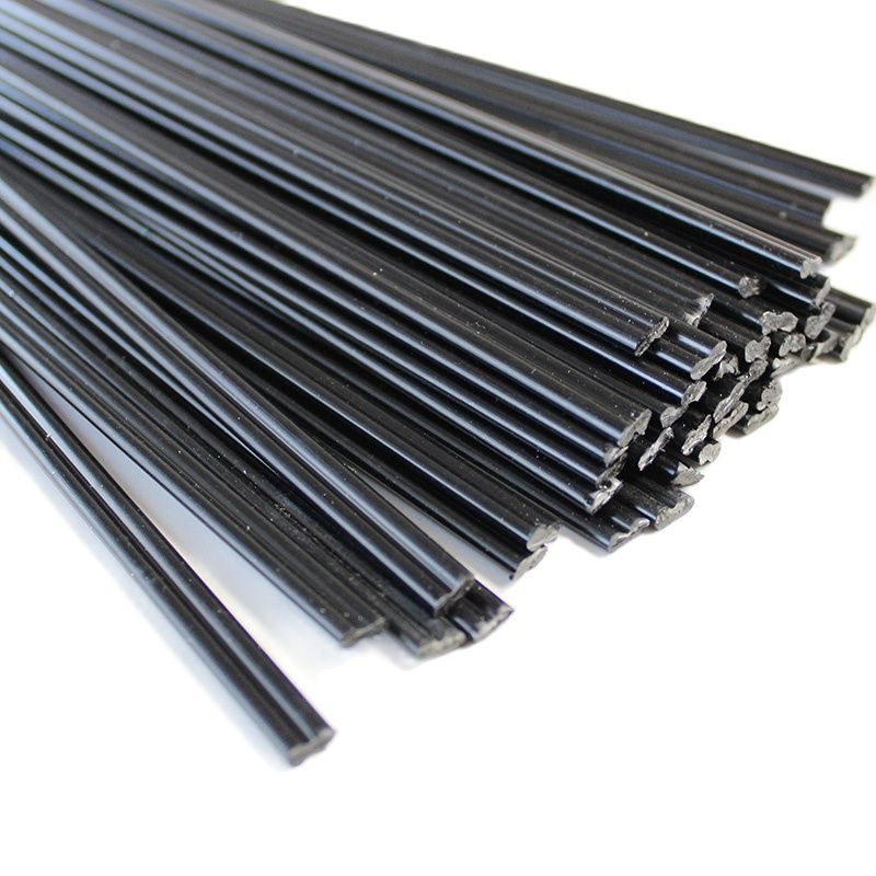 1KG About 100pcs Black ABS Plastic Welding Rods