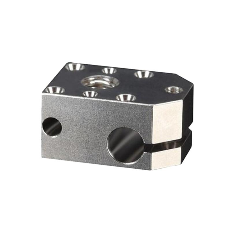 التنين مطلي النحاس سخان كتلة ل التنين هوتيند J-رئيس الطارد ثلاثية الأبعاد أجزاء الطابعة PT100 VS V6/V5 كتلة ساخنة