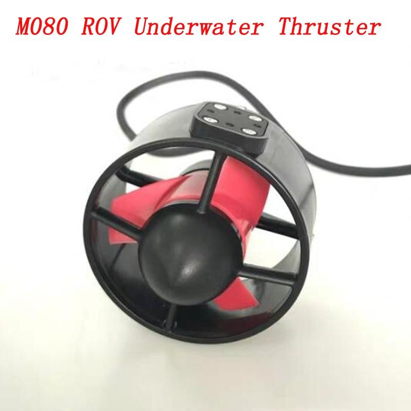 1PC 12V 24V M080 Underwater ROV Thruster Brushless Motor 360W 200m Depth Propulsion 9kg Thrust for RC AUV Robot Operated Vehicle