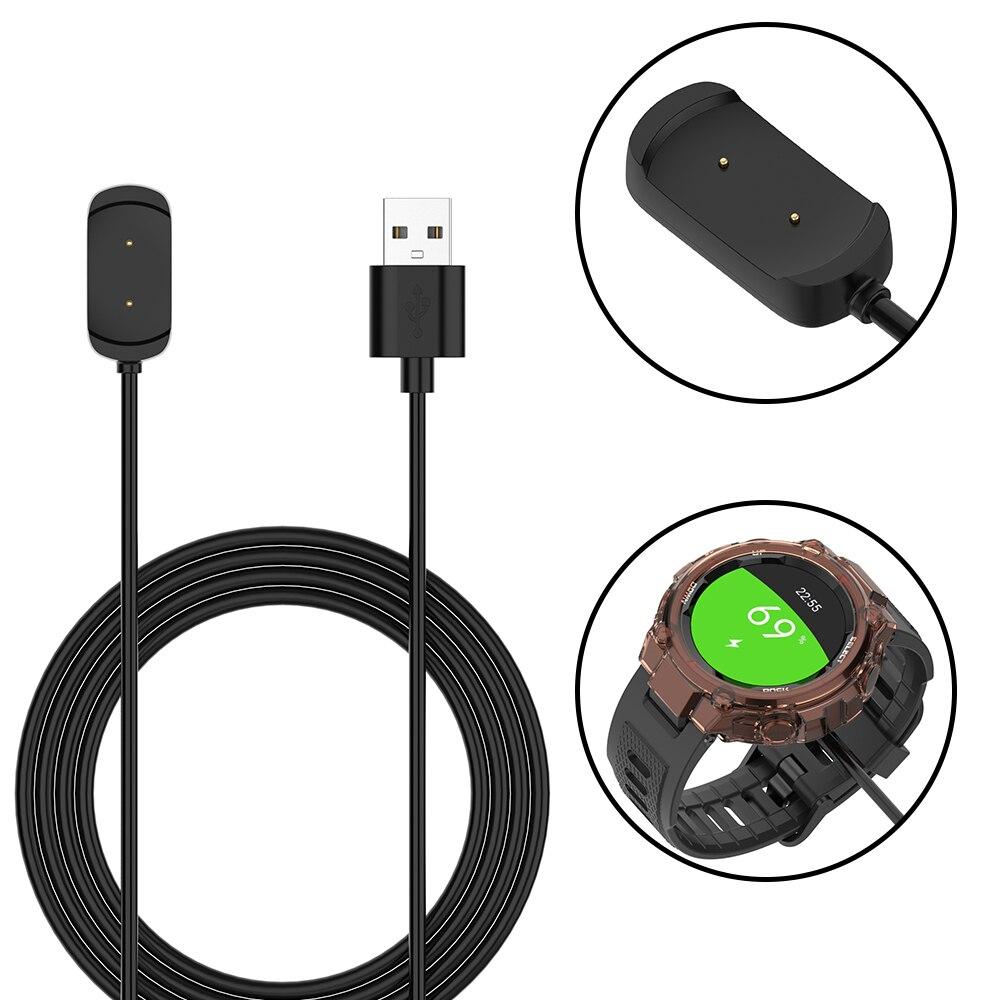 Base de carga USB para Xiaomi Huami Amazfit t-rex GTS GTR 47mm GTR 42mm cargador para reloj inteligente cuna accesorios de carga rápida