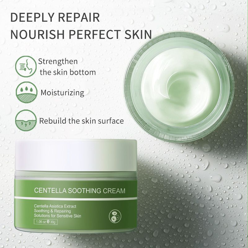 30g Centella asiatica repair face cream soothing cream face lifting cream Skin care beauty products