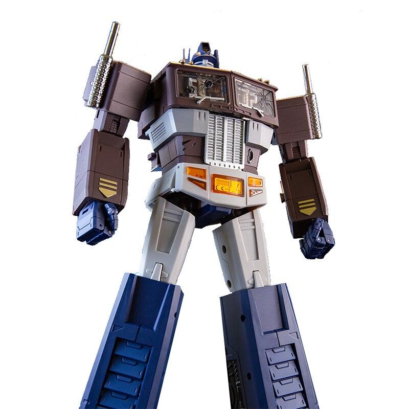 ¡MS-TOYS MS-01S Op comandante muerte Color Ver! Figura de acción de transformación G1 modelo de juguete KO SS38 LS13 deformación coche Robot Figma