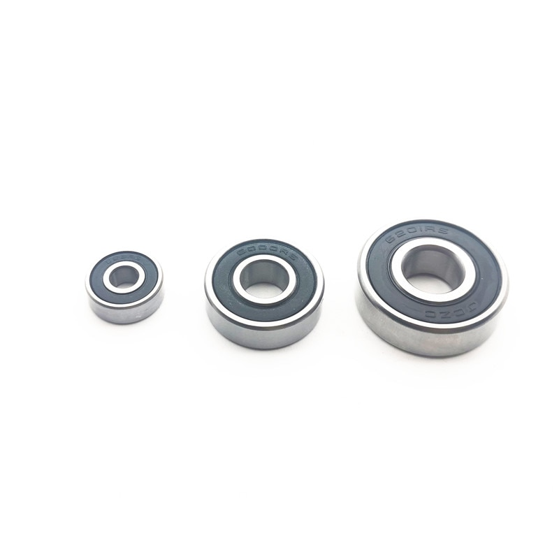 Rodamiento de bolas 606 6000 6201 2RS repuesto para Makita 9523NB herramientas eléctricas accesorios piezas de lijadora angular