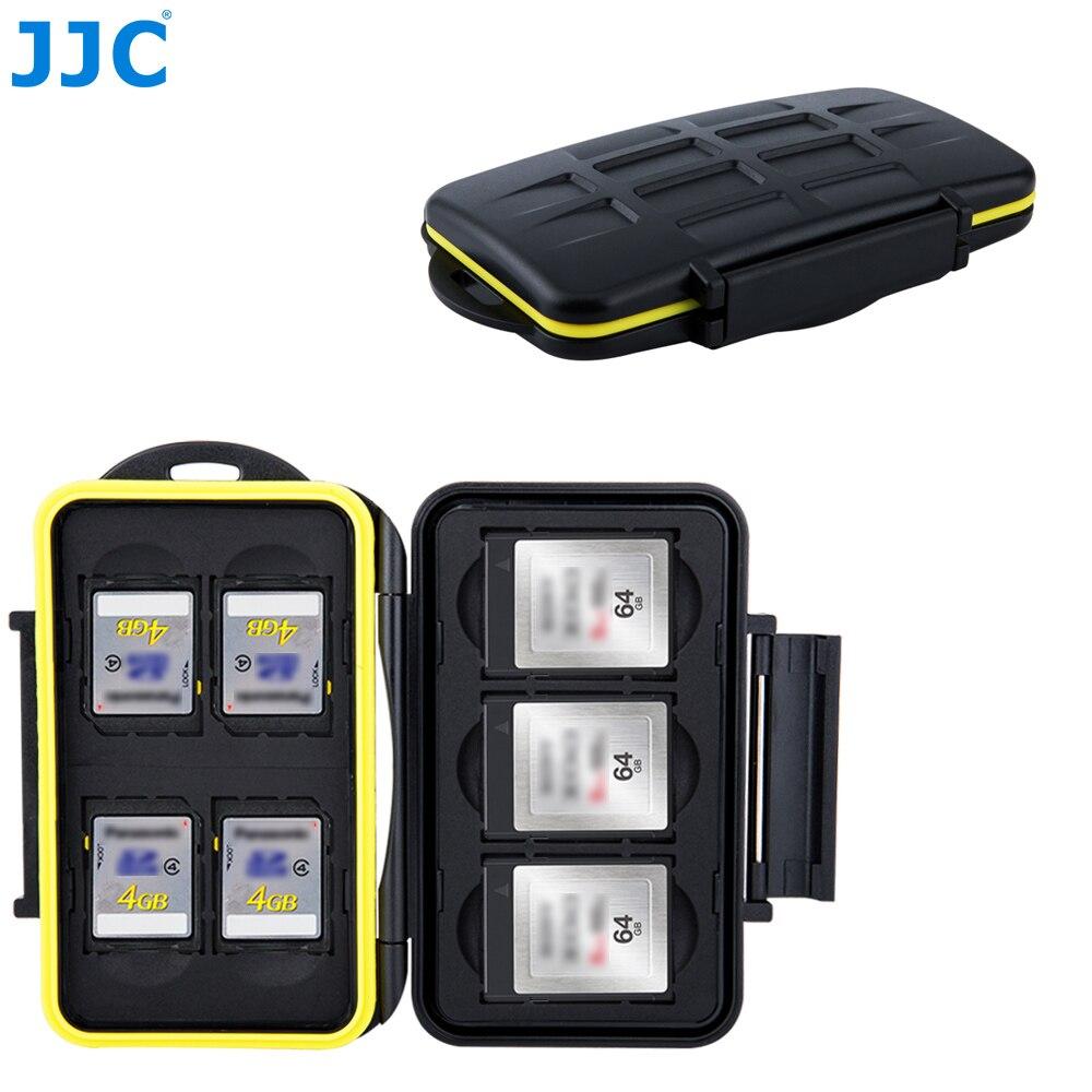 Jjc Camera Dslr Geheugenkaart Case Waterbestendig Sd Xqd Opbergdoos Voor Canon Eos M10 1300d Nikon D5300 sony A5000 A5100 A6000
