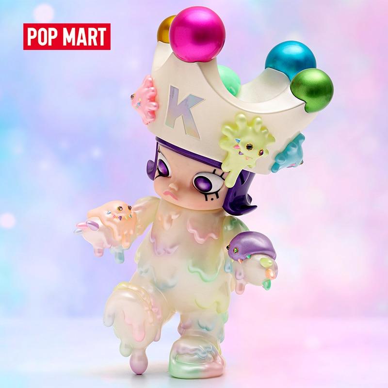 POP MART Molly x Instinctoy Inc 23-26 سنتيمتر تمثال لطيف Kawaii vinail لعبة لجمع شحن مجاني