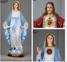 50cm statue von Jesus Mary saint Lutherischen ohne original sin reines Figur Statue kunst Skulptur Handwerk Mary Joseph
