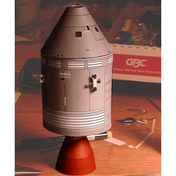 Satellite SM48, rompecabezas modelo de bricolaje de papel tridimensional, hecho a mano juguete, modelo de Origami