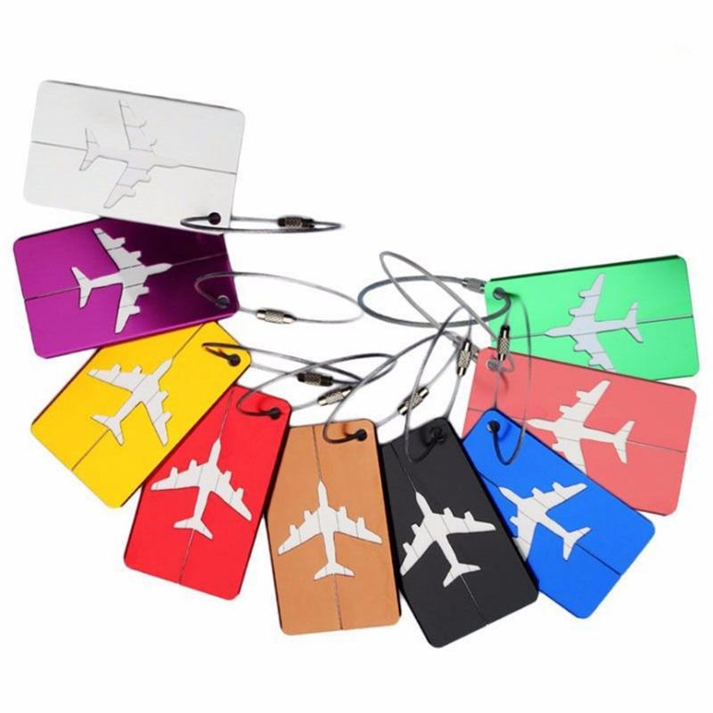 Etiqueta de bagagem tag de bagagem tag de bagagem tag de nome de bagagem mala de viagem titular de etiqueta de endereço id