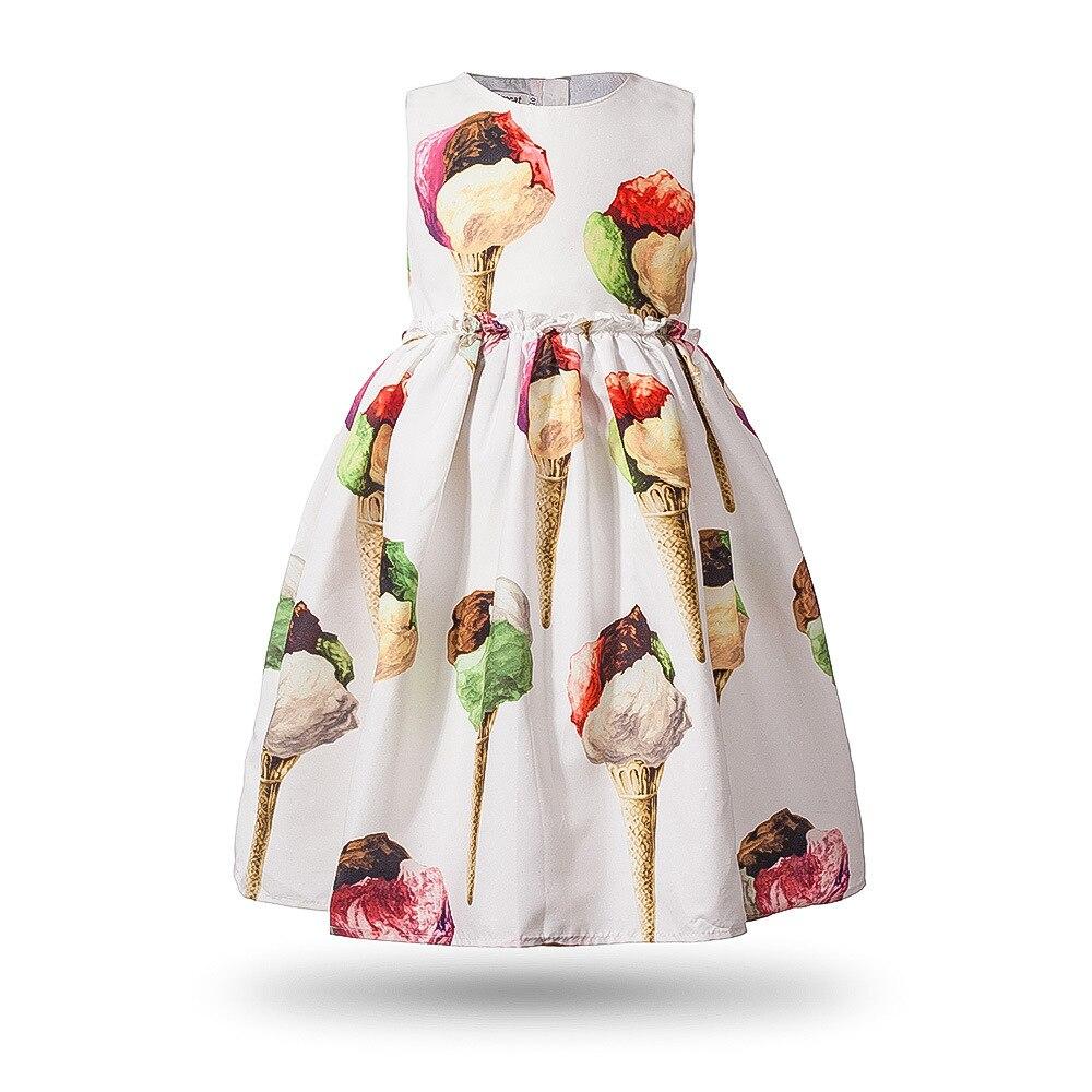 فساتين حفلات عيد الميلاد للأطفال من البنات فستان الأميرات للبنات مطبوع عليه زهور فستان صيفي للأطفال ملابس للفتيات