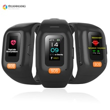 Smart Bracelet Long Standby Elderly Men Students SOS Watch for IOS Android Heart Rate Blood Pressure