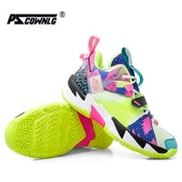 mens basketball shoes breathable cushioning non slip wearable sports shoes gym training athletic basketball sneakers for women