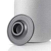 Basse A Domicile Professionnel Antichoc Support de Haut-Parleur Antiderapant Coussin De Base Support De Bureau En Alliage Daluminium Pour Apple HomePod