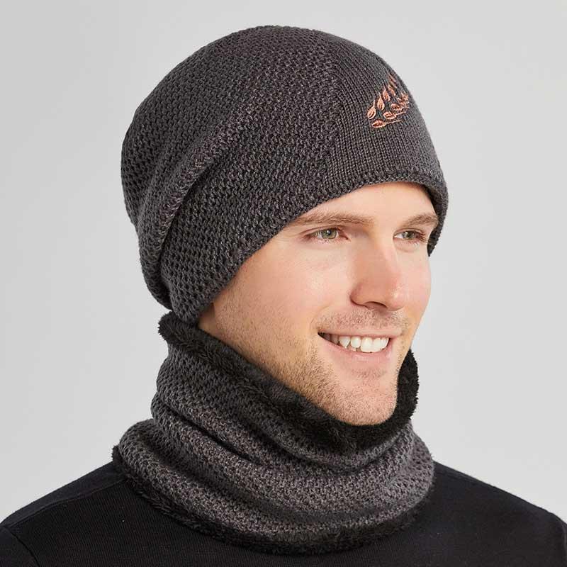 Новые зимние шапки для мужчин, облегающие шапки, Повседневные шапки с углублением, Балаклава, маска, высококачественные Мягкие Шапки, мужск...