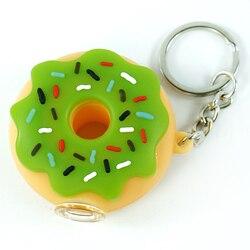 8 piecesl Silicone Cachimbo tubulação de grau alimentício Projeto tpbacco Donut Bonito Tigela de Vidro De Óleo de Cera