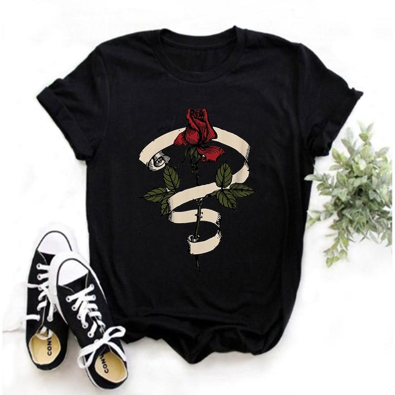 Camisetas Vintage De Los 90, párr Mujer De Ropa Con Estampado De...