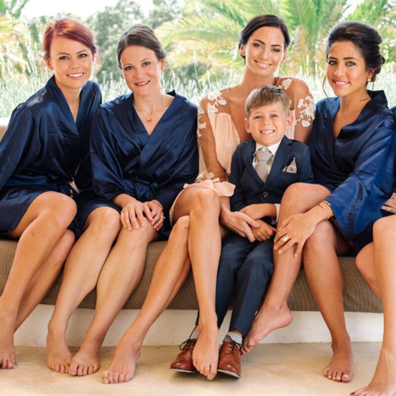 Kids Boys Suits Naby Blue Flower Boy Blazers 2pcs Jacket+Pant Children Prince Wedding Costume Uniform Clothes Tuxedos Party Suit