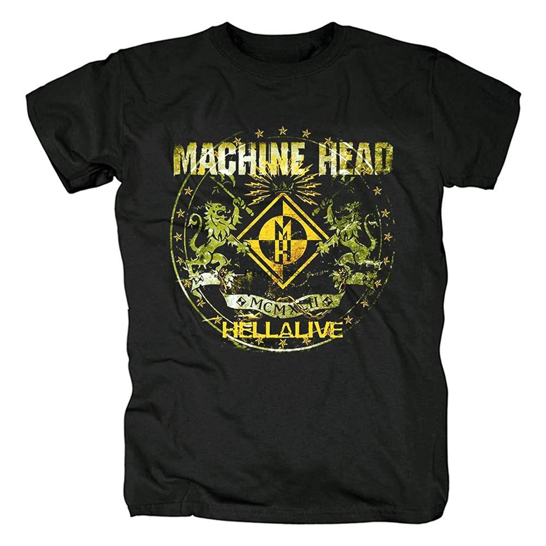 Camiseta larga de manga larga para hombre de camiseta de la cabeza...