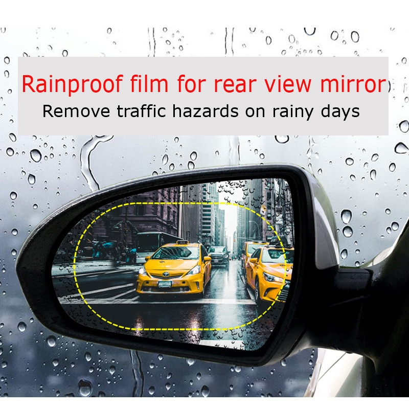 Car Rearview Mirror Protective Film Anti Fog Clear Rainproof Protective Soft Film for Suzuki grand swift vitara Auto Accessories