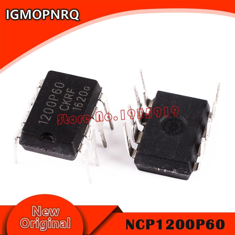 10pcs NCP1200P60 1200P60 NCP1200 DIP-8 new original