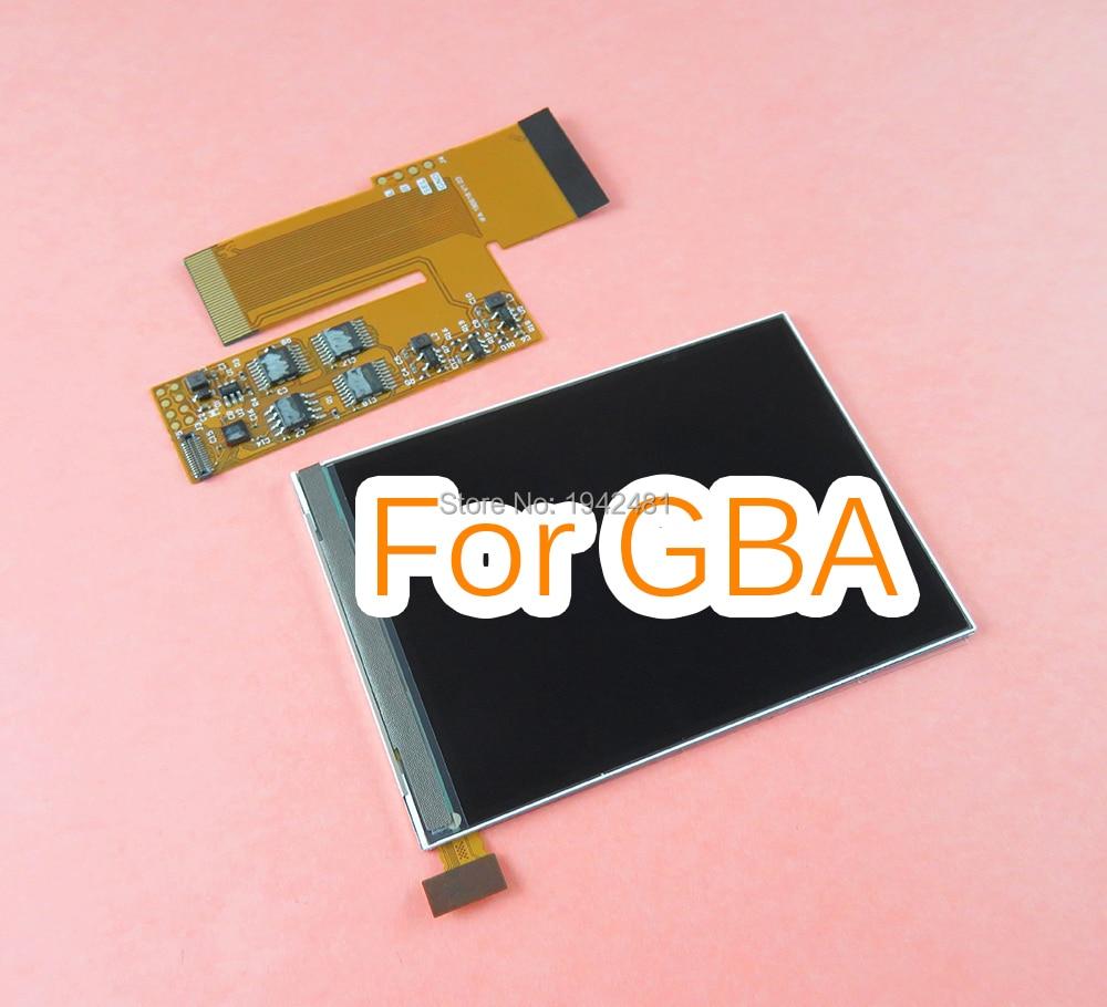 Pantalla LCD retroiluminada IPS de 10 niveles de alto brillo para la pantalla retroiluminada de reemplazo de la consola Nintend GBA