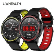 IP68 nager Bracelet intelligent montre hommes ECG HR Fitness Tracker Bracelet Smartwatch pour IOS/Huawei/Xiao mi PK mi bande 4/ajustement Bit 5 pas