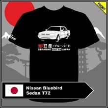 Camiseta Nissan Bluebird sedán T72