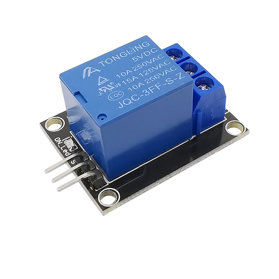 1Pcs 5V Relay Module 1 Channel Relais Board Shield KY-019 One Channel Relays for Arduino PIC AVR DSP ARM