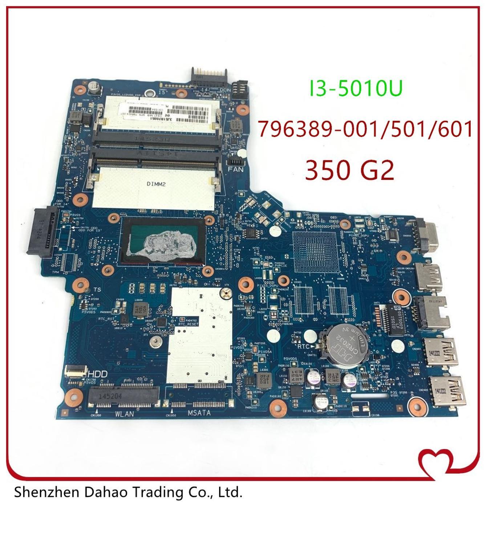 796389-001/501/601 placa-mãe do portátil para hp 350 g2 mainboard SNOWI20-6050A2677101-MB-A01 onboard I7-5500 testado trabalho