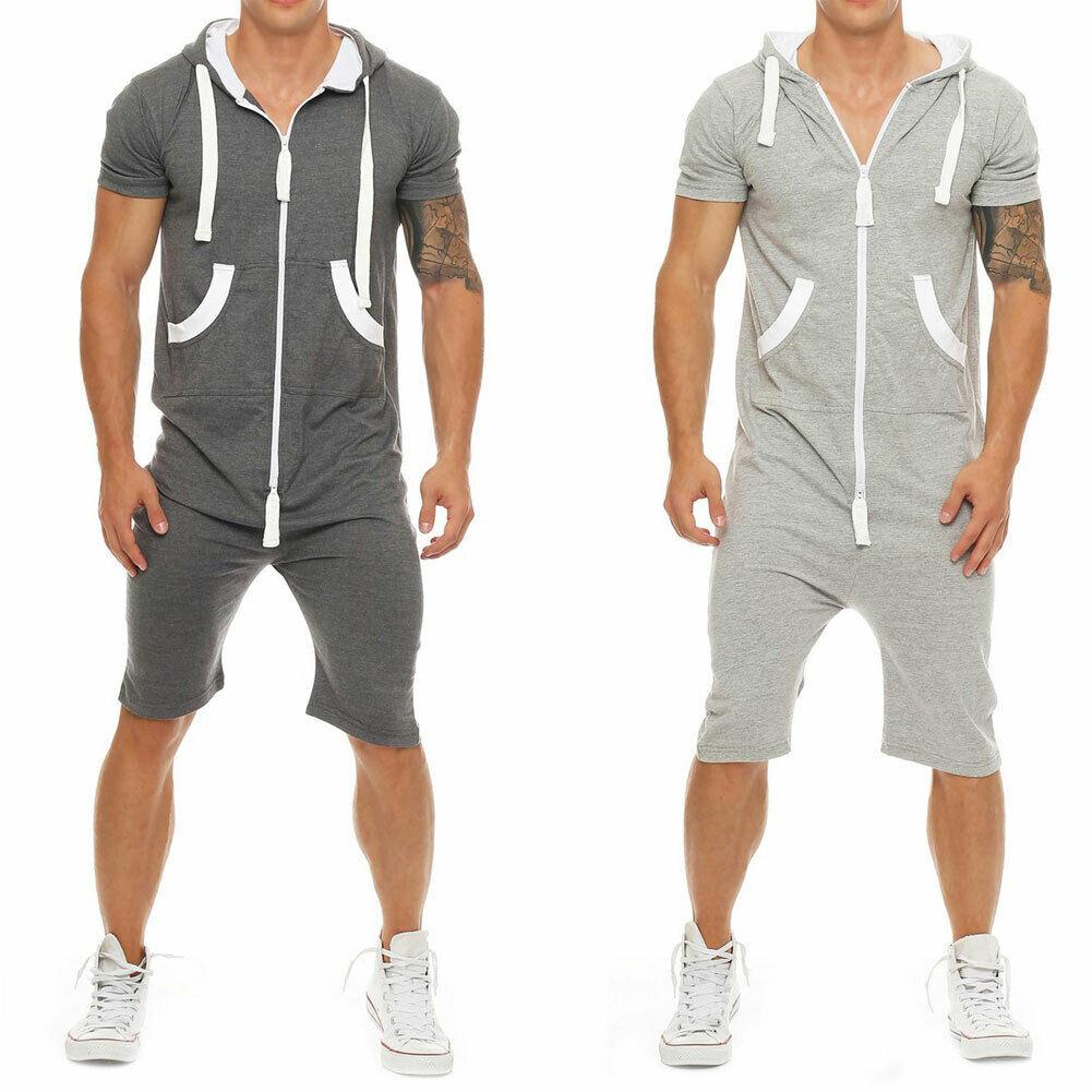 Hirigin, стильные мужские рубашки с коротким рукавом, штаны, комбинезон, шорты, комбинезоны