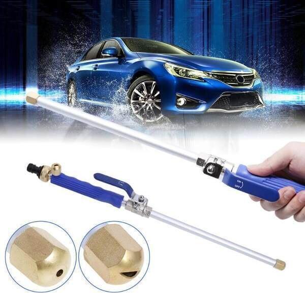 Hydro Jet High Pressure Power Washer High Pressure Washer Gun Stainless Steel Washer High Pressure Cleaner Sprayer Gun