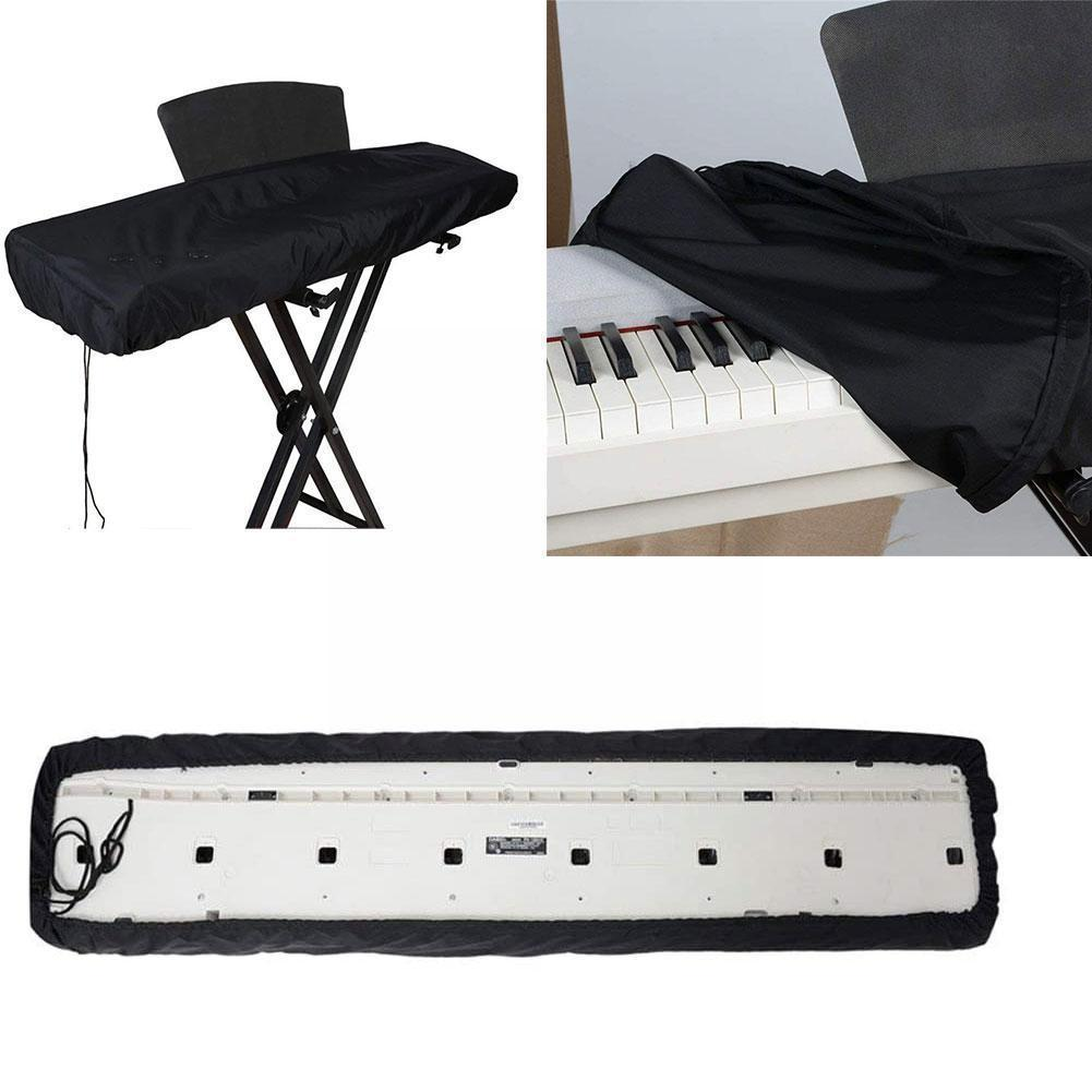 Piano Cover Dust Cover 61/88 Fully Enclosed With Drawstring Piano Digital Cover Shrink Electronic Keyboard P4L5