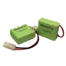 MasterFire 2 PACK/LOT Original nouveau Ni-MH 12V 800mAh Ni-MH AAA batterie Batteries rechargeables avec prises