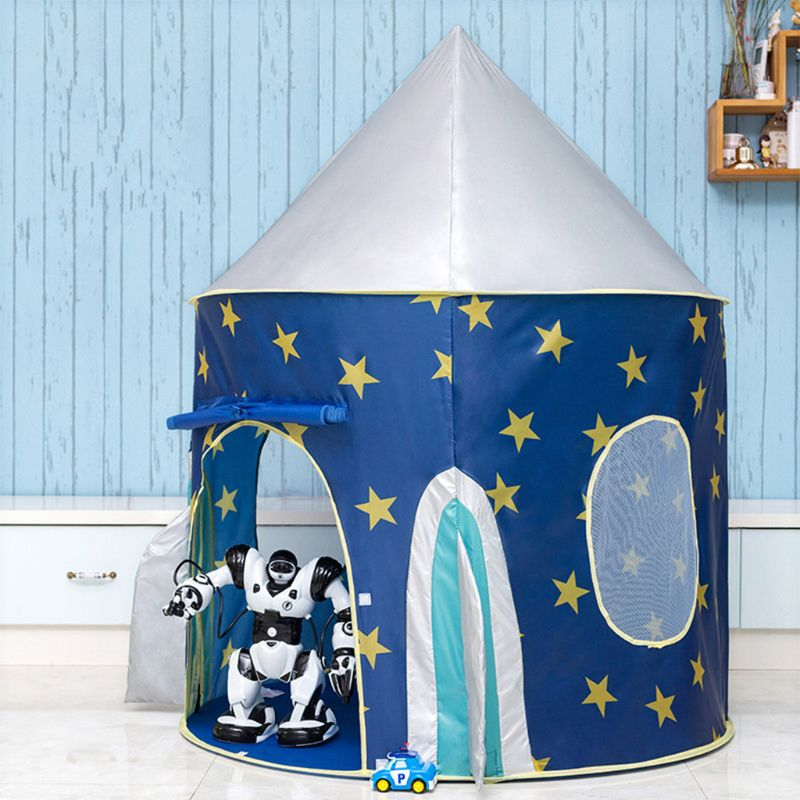 Kids Kingdom Pop Up Space Rocket Play Tent